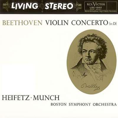 雅沙 海菲兹 查理 明希 贝多芬 D大调小提琴协奏曲